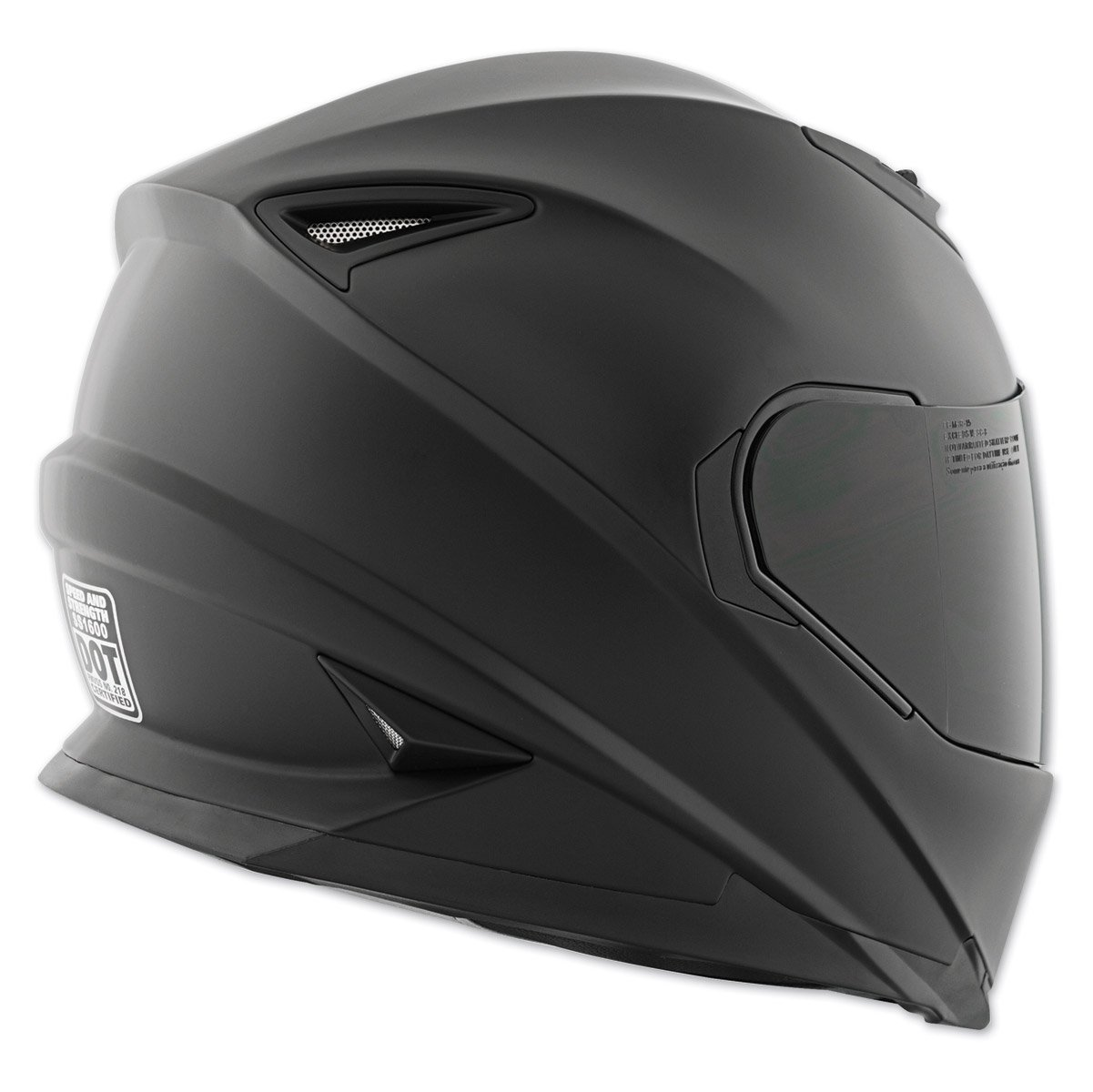 Speed /& Strength SS1600 Solid Full Face Motorcycle Helmet Pick Size /& Color