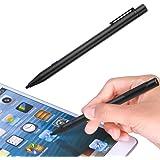 Active Stylus Pen, Stylet capacitif rechargeable Chialstar avec une fine pointe ultra précise pour noter dessiner ecrire sur un écran tactile compatible sur iPad iPhone Smartphones Android Tablettes
