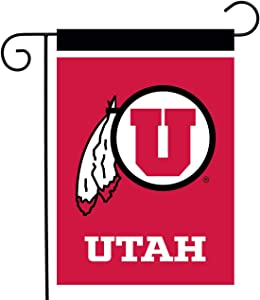 "Briarwood Lane Utah Utes Garden Flag NCAA Licensed 12.5"" x 18"""