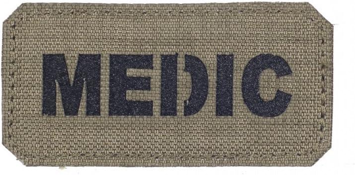 Parche de Medic Medic EMT EMS cortado con láser Militar Táctica ...