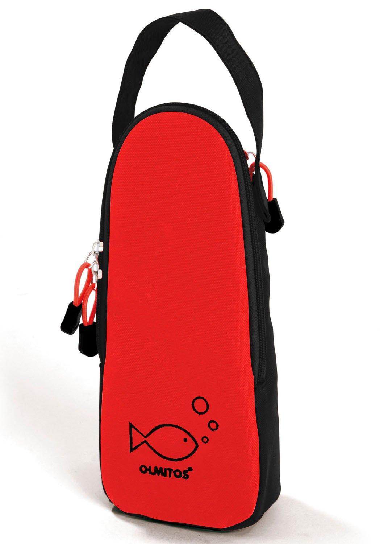 color rojo Olmitos 1213 Termo para biber/ón y chupete