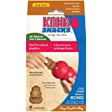 KONG - Snacks™ - All Natural Dog Treats - Peanut Butter Biscuits - Small (Best used with KONG Classic Rubber Toys)