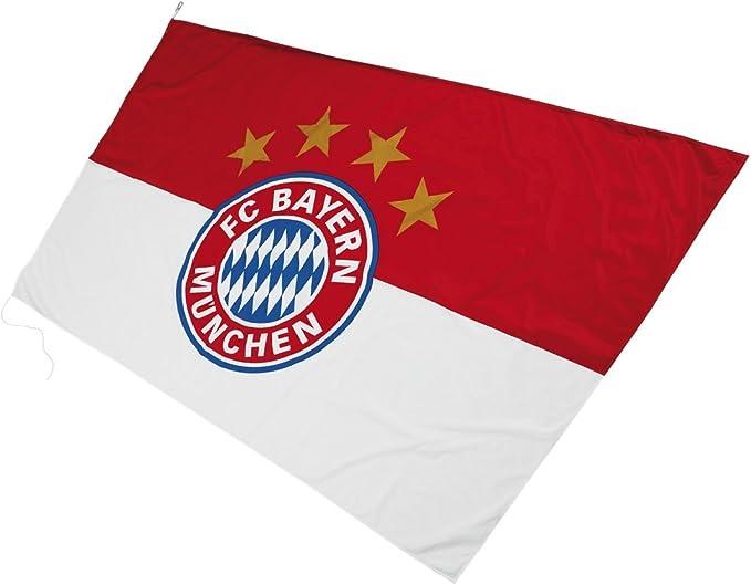 Imagen deBayern de Munich - Bandera con el escudo del Bayern de Munich (250 x 150 cm)