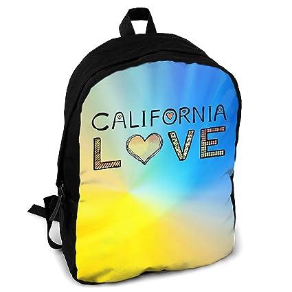 2bbffecfb5 Amazon.com  Giinly California Love Full-Size Printed Custom ...