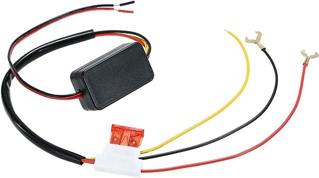 Topuality Auto Led Tagfahrlicht Automatik Ein Aus Schalter Controller 12v Drl Relais Auto