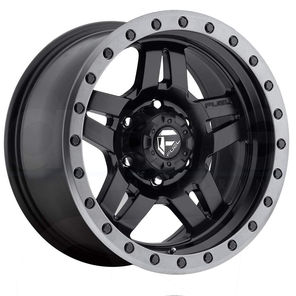 Fuel Offroad D557 Anza 15x10 5x114.3-43mm Black Wheel Rim