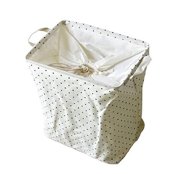 yius woy plegable Cotton Ropa Sucia (recipiente Cesto baúl ...
