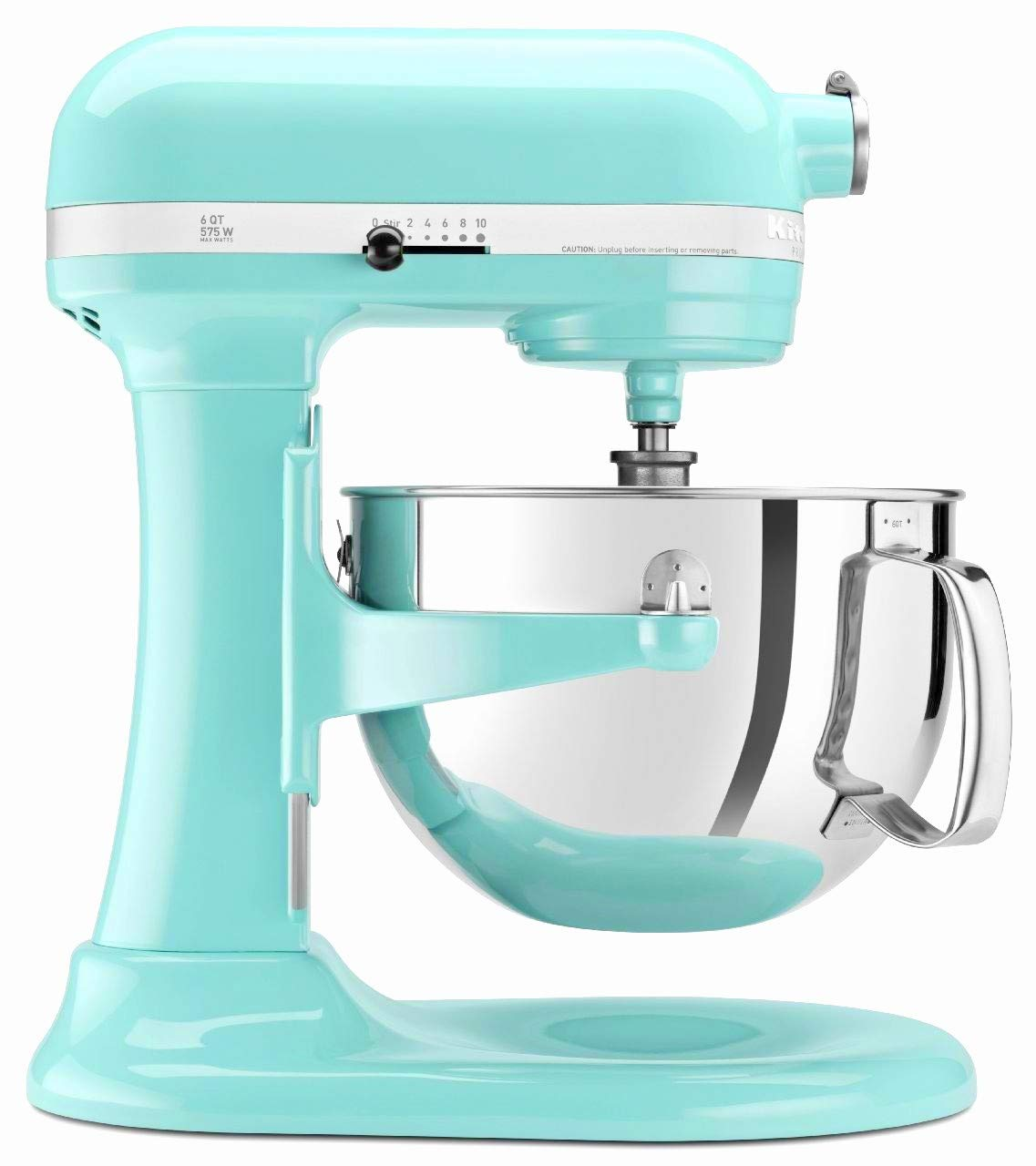 KitchenAid Professional 600 Stand Mixer 6 quart, Ice (Renewed) by KitchenAid