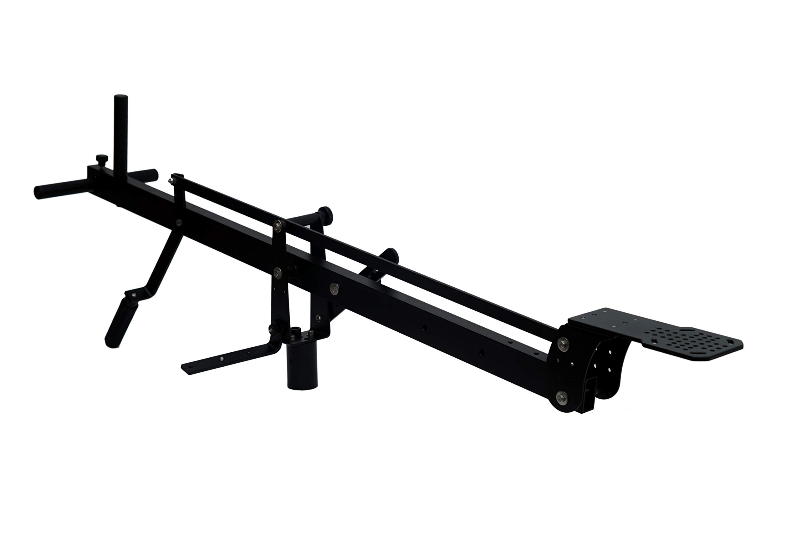 Camgear DSLR Video Camera Crane Jib DSLR Tilt with 4 Feet Length | Heavy Duty Yet Lightweight, Best Travel/Indoor/Outdoor Aluminum Crane with LCD Arm and Bag by CamGear