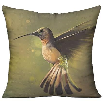 Amazon.com: HCZHUCK Decorative Incredible Hummingbird Throw ...