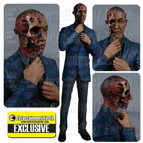 Breaking Bad Gus Fring Burned Face Action Figure - Entertainment Earth Exclusive by Mezco Toyz B00TT7JNEY