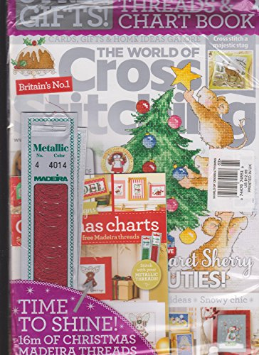 (The World of Cross Stitching Magazine Issue 261 3 Free Gifts Included)
