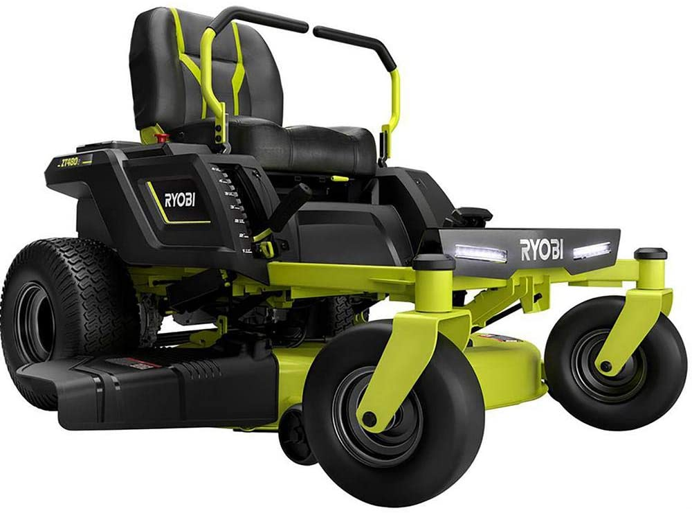 Ryobi Ry48ztr75 42-Inch Electric Riding Lawn Mower