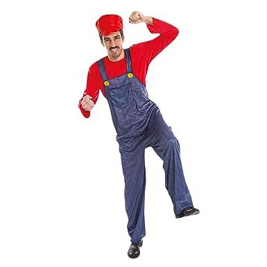 Chaks Costumes et Mariage Disfraz de Fontanero de Mario para los ...