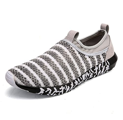 mogeek Zapatillas Sin Cordones Para Hombre Ligeros Transpirables Zapatos De Deporte Para Exterior Hombre: Amazon.es: Zapatos y complementos