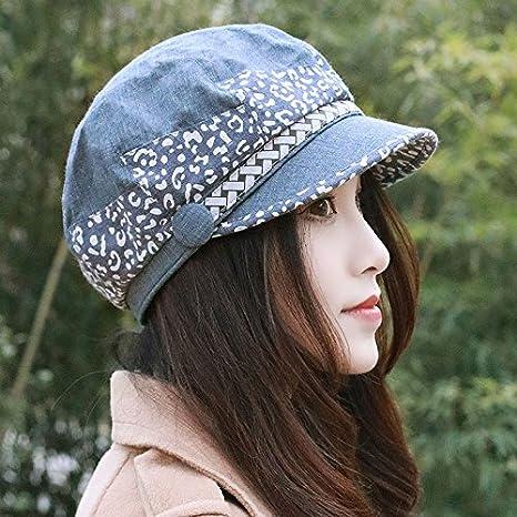 ZHANGYONG Sombreros Elegantes Marea Hembra 8 Hat Pintor Pac Beret tocados  Moda Ocio Tapa de Resorte 5e8e06b48c7
