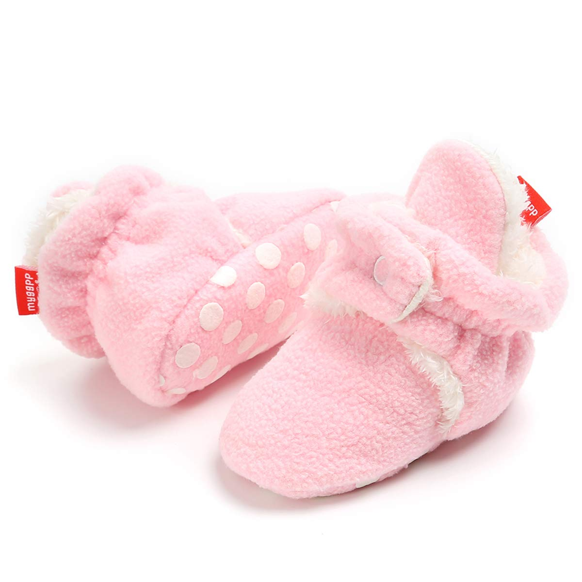 9cade15299aea LIVEBOX Newborn Baby Booties, Cotton Warm Winter Infant Prewalker Toddler  Snow Boots Crib Shoes for...