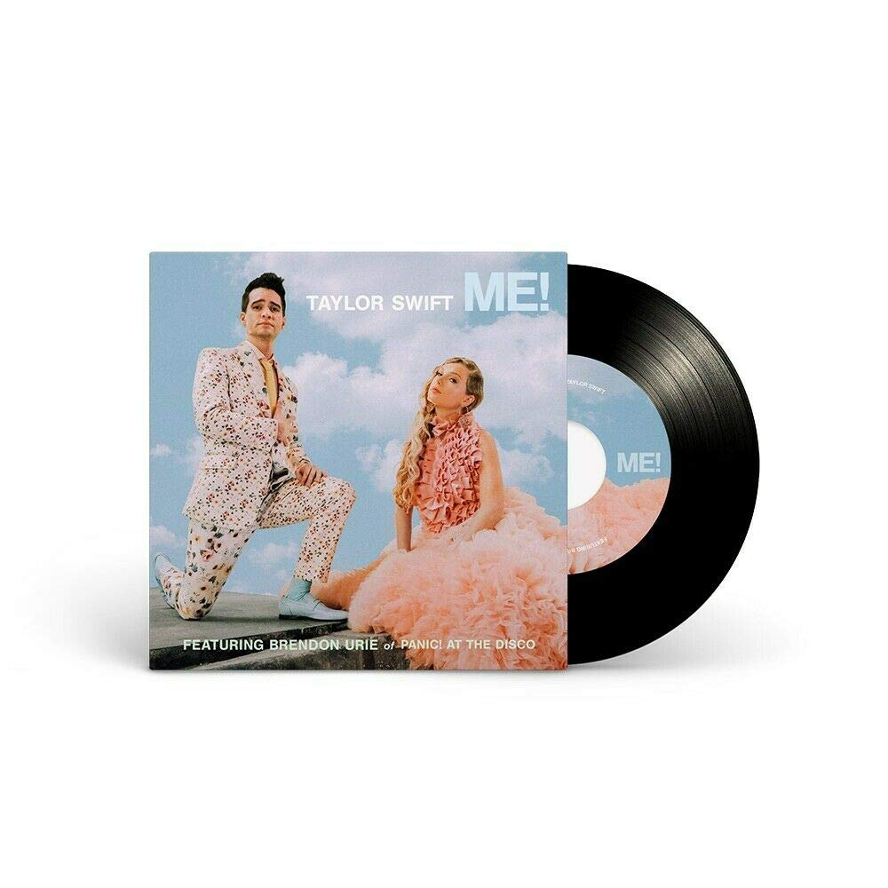 Taylor Swift Me Vinyl 7 Single Record Cover 1 Limited Edition Featuring Brendon Urie Of Panic At The Disco Amazon Com Music
