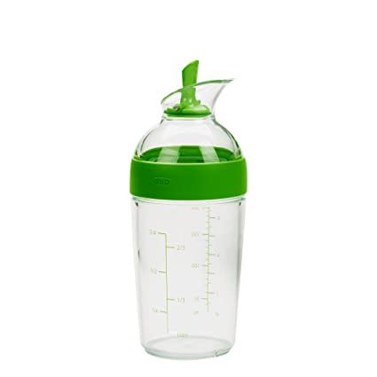 Oxo Good Grips Little Salad Dressing Shaker, Green by Amazon