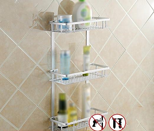 Simple shelves No Lavar el Inodoro Lavadora WC baño Cuarto de baño ...