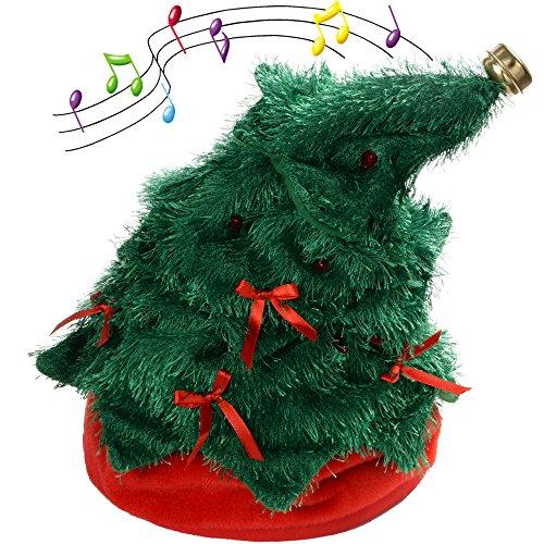 christmas decorations xmastree battery operated dancing xmas tree 30 cm