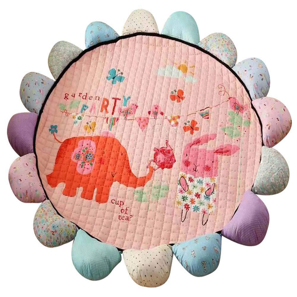 JXS Estera del Niño del Elefante Animal Despierto, colchón ...