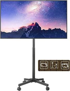 Soporte TV Soporte De Pantalla De TV Móvil Premium para Pantallas Planas De LCD De 17