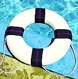 Swimming Pool 18'' Diameter Foam Safety Ring Buoy