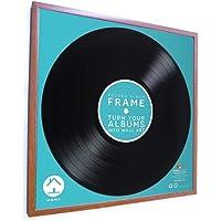Desconocido Cuadro de Vinilo LP Record Album Cuadrado