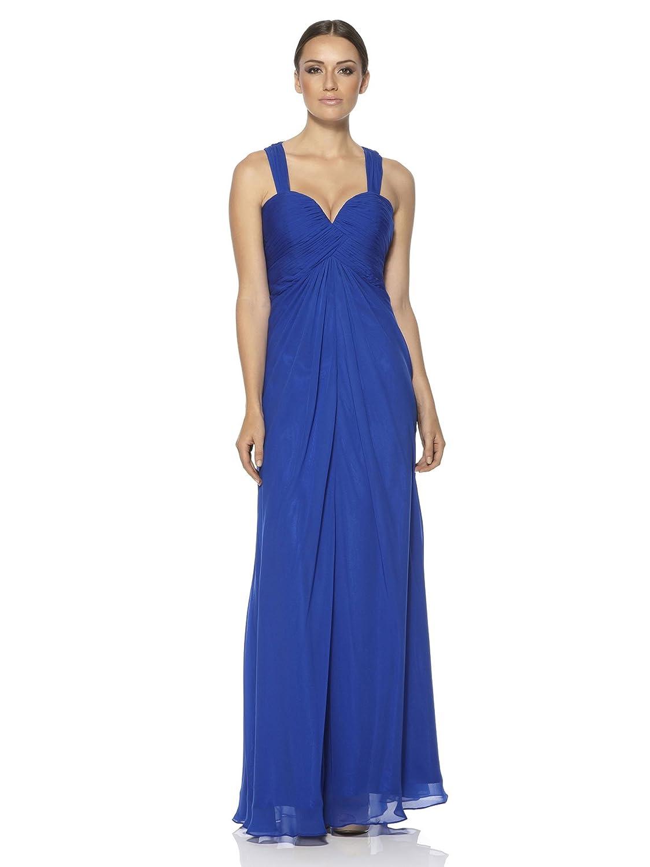 DynastyDamen  A-linieKleid Blau Blau