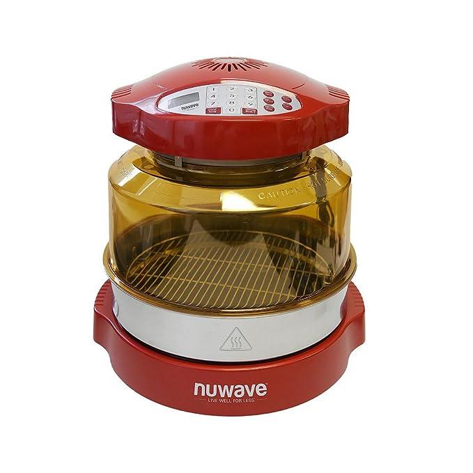 Amazon.com: Nuwave Pro Plus Horno, Rojo: Kitchen & Dining