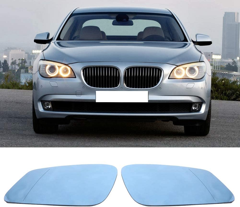 Left /& Right Door Side Heated Wing Mirror Glass for BMW 5 Series F07 F10 F11 51167251583