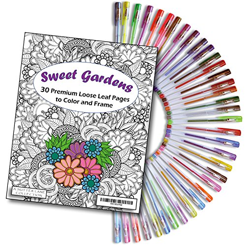 Bundle Sweet Gardens Coloring Glorious