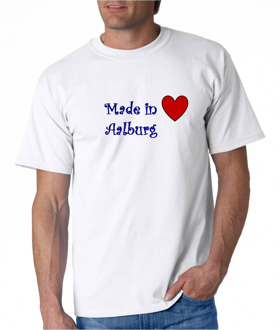 Made In Aalburg City Series T Shirt 6482