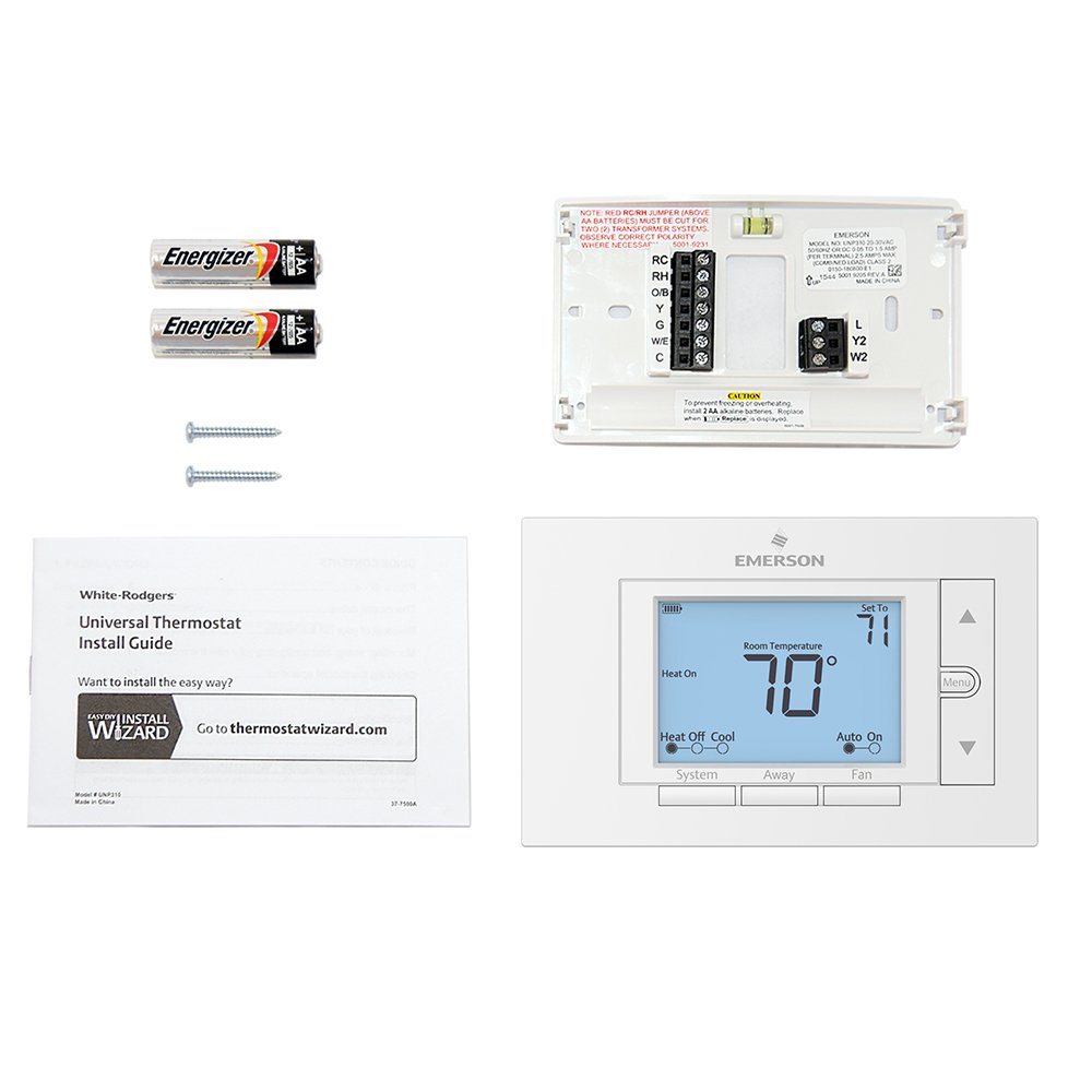 Emerson UNP310 Non-Programmable Thermostat by Emerson Thermostats (Image #2)