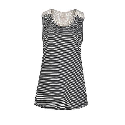 Camisetas, Ba Zha Hei Mujer gasa camisas mujer Manga corta Casual tops Mezcla de algodón
