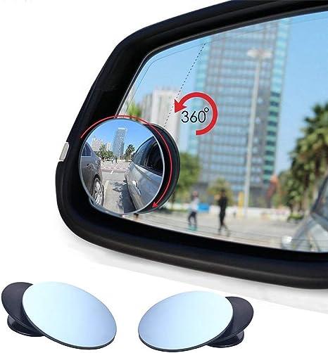 Auto Toter Winkel Spiegel Vi Go Upgrade Konvex Weitwinkel 360 Grad Drehbar Verstellbar Zum Aufkleben Auf Außenspiegel Für Alle Autos Suv Trucks Motorräder 2 Stück Auto