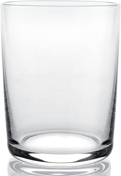 Alessi Glass Family AJM29//1 Set di 4 Bicchieri di Design per Vini Bianchi in Vetro Cristallino