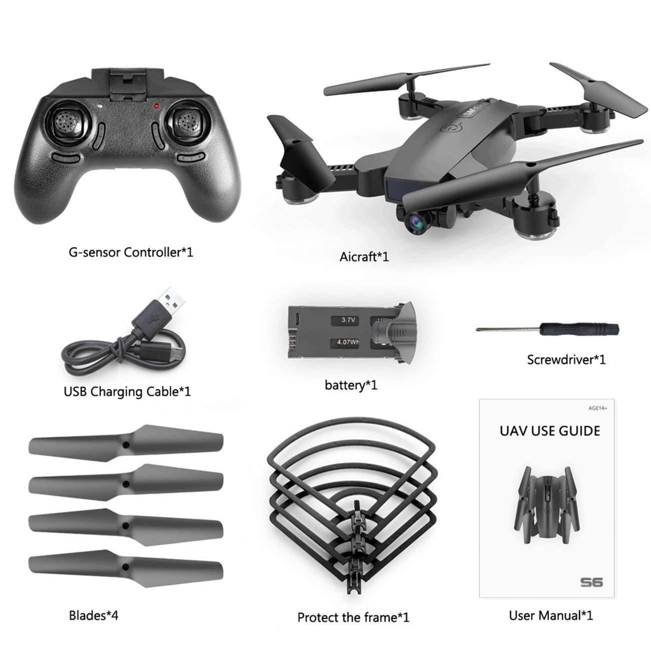 Drone Quadcopter Remote di S6 720P WIFI Camera Quadcopter Altitude Hold