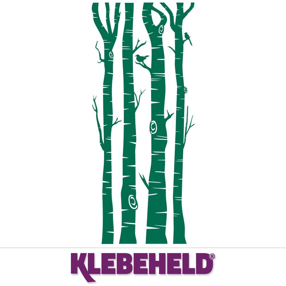 KLEBEHELD® Wandtattoo Birkenstämme - - - Birken - Stämme - Birkenstamm Farbe weiss, Größe 200cm B071X2CF28 Wandtattoos & Wandbilder 2aec9f