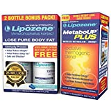 Lipozene - Weight Management Supplement - Appetite Suppressant with MetaboUp Plus Thermogenic Blend - Metabolism + Endurance