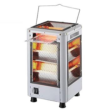 Calefactor Eléctrico/Calefactor Eléctrico Silencioso de Cinco Lados/Hogar, Estufa de Calefacción sin Radiación: Amazon.es: Hogar
