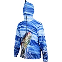 IPOTCH Anti UV Con Capucha Ropa De Pesca