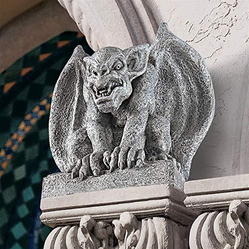 (Design Toscano Gomorrah The Gargoyle Gothic Decor Statue, 11 Inch, Polyresin,)
