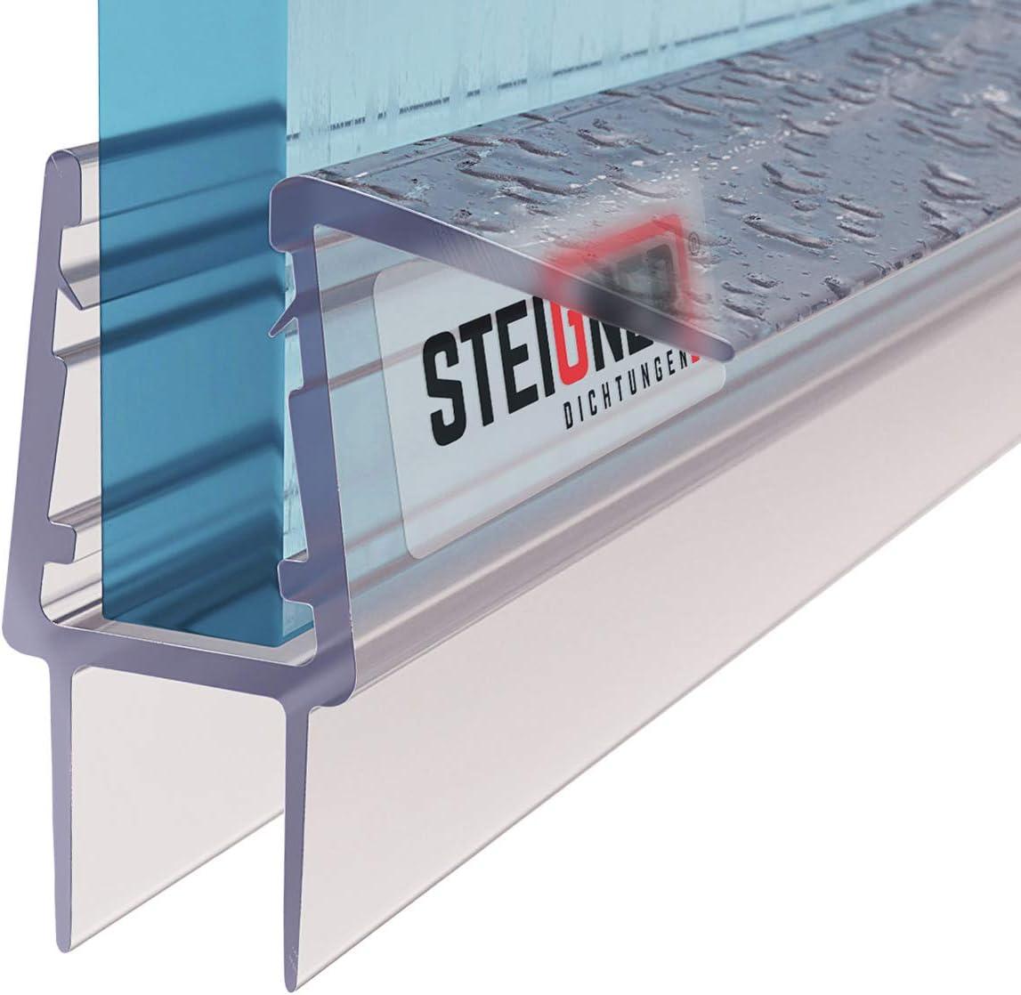 STEIGNER 50cm Joint d/étanch/éit/é de remplacement pour les vitres d/'une /épaisseur 8mm// 9mm UK20-08