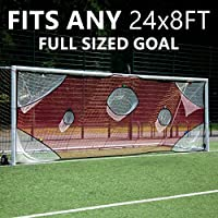 QuickPlay PRO Soccer Goal Target Nets 7 Scoring Zones –...