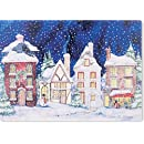 Snowy Village Holiday Boxed Cards (Christmas Cards, Holiday Cards, Greeting Cards)