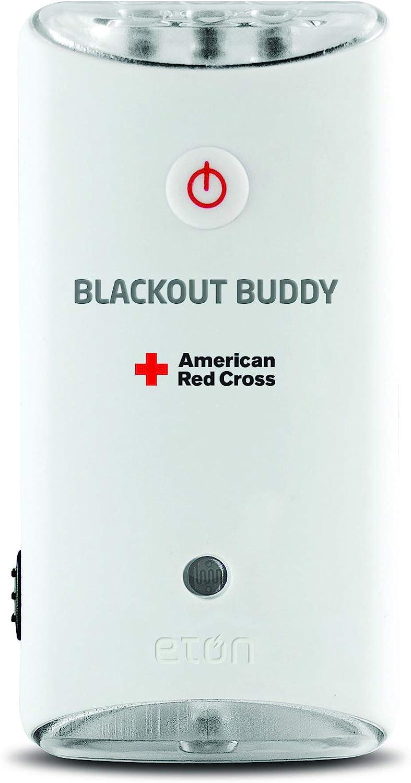American Red Cross Blackout Buddy Swivel Emergency Flashlight, Blackout Alert & Night Light
