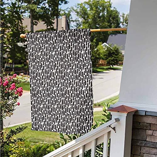 Amazon.com: Funkky - Bandera de jardín moderna, diseño de ...