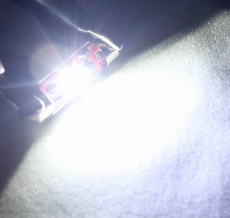 DE3423 Dome Light C5W DC-12V DE3425 7W Cree LED Canbus No Error Festoon Heat Sink Lamp Light For License Plate Light Everbright 2-Pack White 36MM 6418 6413 6411 Map Light Trunk Light Glove Box Light Auto Car Reading Interior Lamp